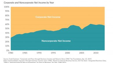 More Business Income Is Reported on Individual Tax Returns Than Corporate Returns