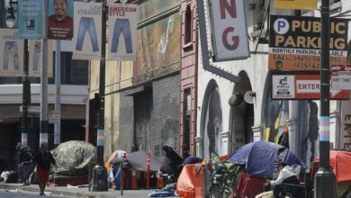 The proposed increase in California corporation tax would help the homeless