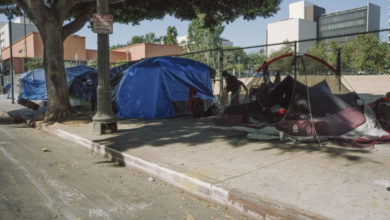 California lawmakers are keeping an eye on corporate tax to help tackle homelessness