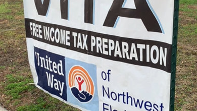 There is a free tax preparation at the Glenwood Community Center