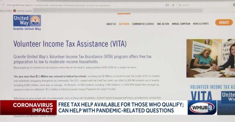 Some Granite Staters receive free tax preparation assistance