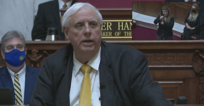 Governor Justice proposes removing West Virginia income tax