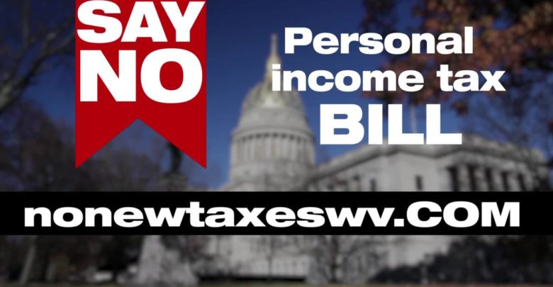 The West Virginia Broadcasters Association opposes WV income tax