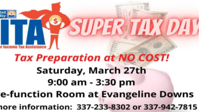 Free tax preparation event on Saturday in Opelousas