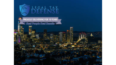 Legal Tax Defense celebrates 10 years as the leading tax planning firm in the country