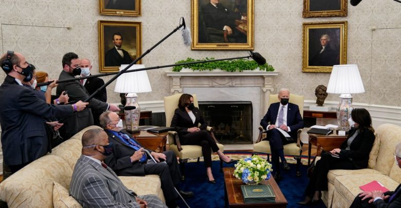 Biden begins infrastructure negotiations that signal flexibility in corporate tax hike