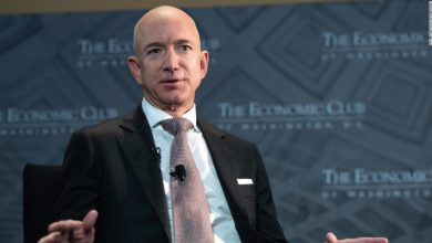Jeff Bezos advocated higher corporate tax rates.  But it won't cost him much