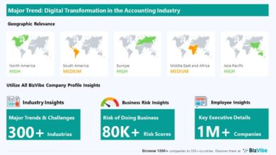 Digital transformation with a powerful impact on accounting, tax preparation, bookkeeping, and payroll companies. Discover Company Insights for the accounting industry
