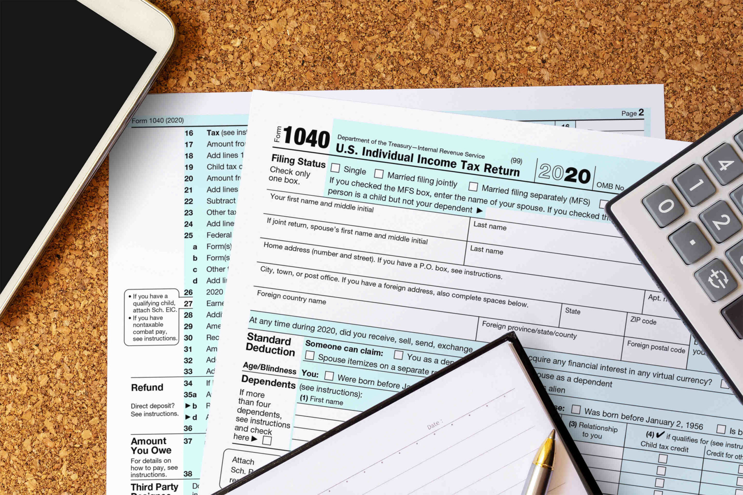 What is the tax deadline for 2021?