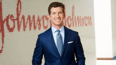A higher corporate tax rate?  Gorsky, CEO of Johnson & Johnson, is not on board