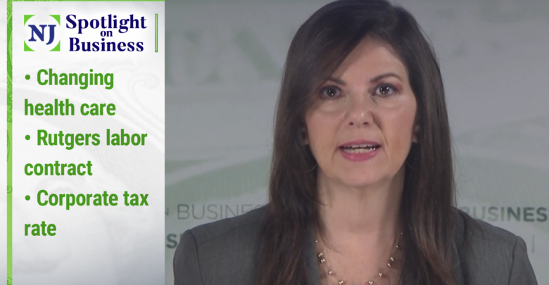 Annual Report: Health Care Change, Rutgers Employment Contract, Corporate Income Tax Rate |  Video