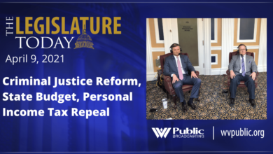 See or Listen at 6 p.m. - Today's Legislature discusses criminal justice reform, the state budget and the abolition of income tax