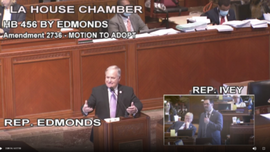 La.  House debates, passes bill redacting employee data from public records on corporate tax incentive programs