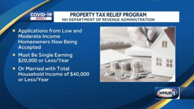 Property tax relief for people with low, moderate incomes