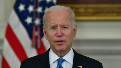Biden says he's open to compromising on corporate tax rates