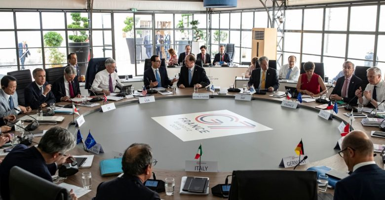 EXCLUSIVE G7 supports the worldwide minimum corporation tax and supports the economy - draft