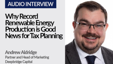 Why record renewable energy production is good news for tax planning