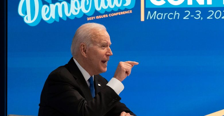 Biden offers to drop the corporate tax hike during infrastructure negotiations with the Republicans