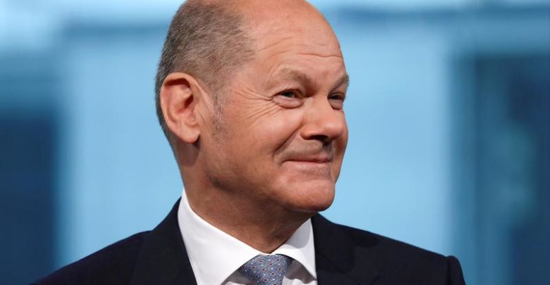 Germany's Scholz is discussing the global minimum corporate tax in Washington