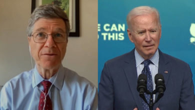 """""""We are a plutocracy"""": Jeffrey Sachs criticizes Biden for the offer to keep Trump's corporate tax cuts"""