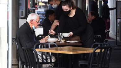 More than 10 million Australians should receive tax cuts of up to $ 1,080 in the next few days.  A Melbourne café employee is pictured
