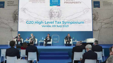 G20 supports historic corporate tax reform in Venice