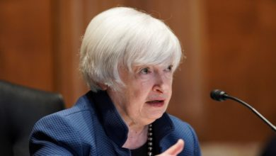 Yellen urges G20 for higher minimum corporate tax rate - US Treasury Department