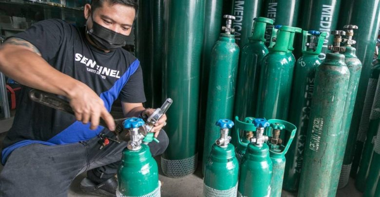 Government sees tax relief for oxygen companies