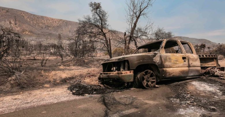 Tax breaks available for California forest fire victims