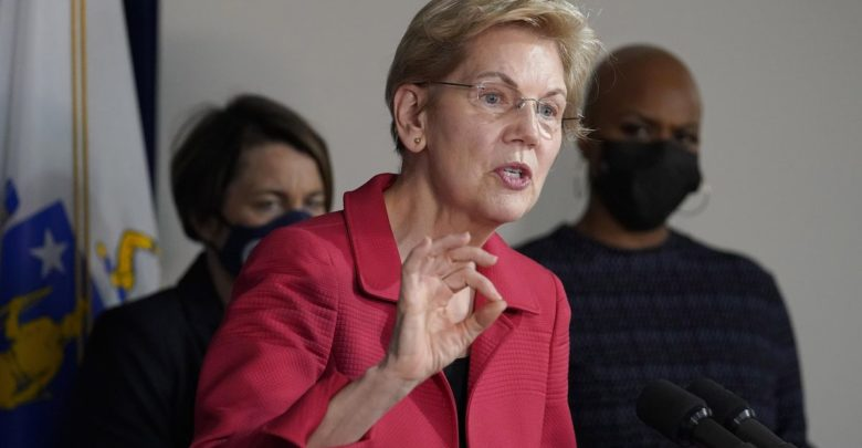 Warren calls for the abolition of corporate tax breaks to pay for Dems' massive spending package