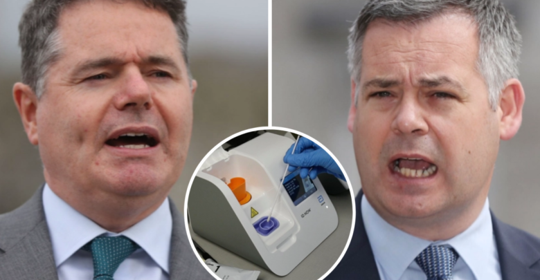 Serious questions to the government over reports that drug companies were exploiting a corporate tax loophole in 2018, TDs say