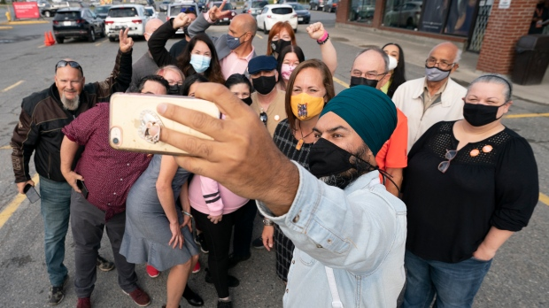 NDP leader Jagmeet Singh promises to take action against corporate loopholes and tax evaders