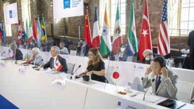 G20 chief financial officers support international corporate tax reform